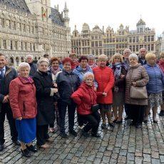 """Klub Seniora """"Jesienne Kwiaty"""" w Brukseli"""