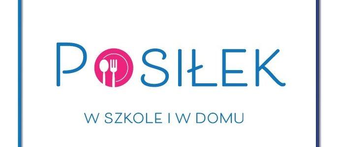 Posiłek w szkole i w domu - logo
